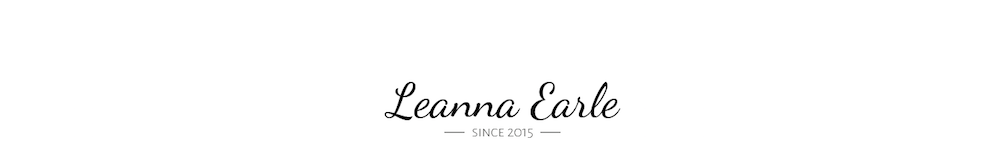 Leanna earle blog