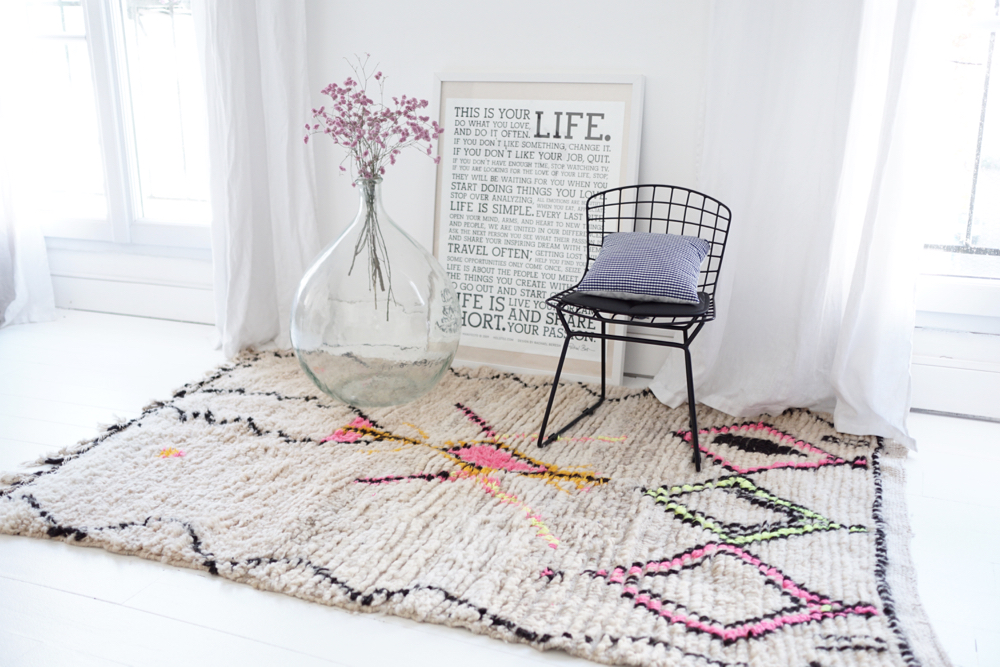 rock the kilim tapis